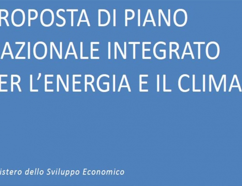 ITALIAN ENERGY TRANSITION: Proposal for a National Plan for Energy and Climate